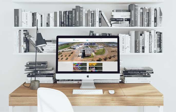 Diseño web para la empresa química