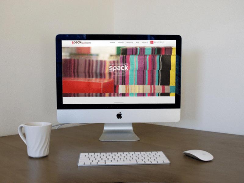 Diseño web para Spack